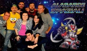 Alabarde Spaziali cartoon band