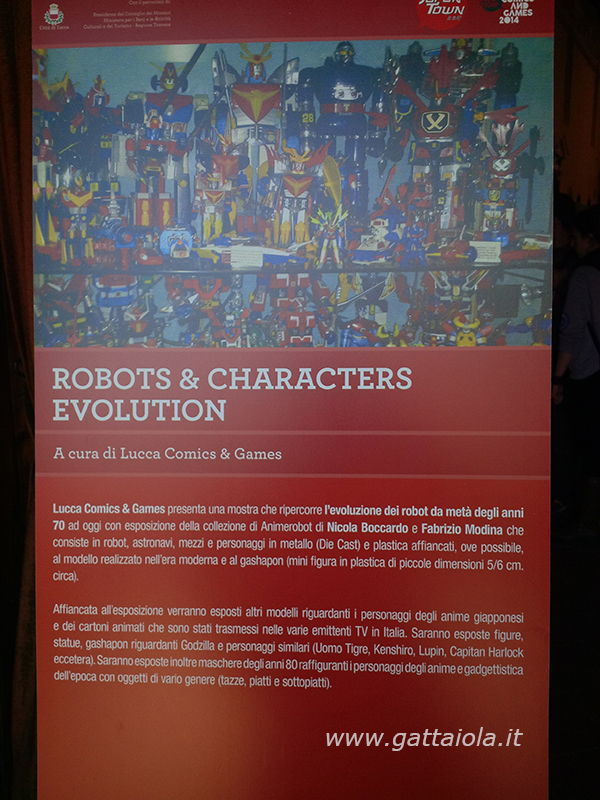 001 Robots & Characters Evolution