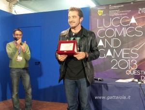 Premiazione XIX Rill 2013 Luigi Musolino