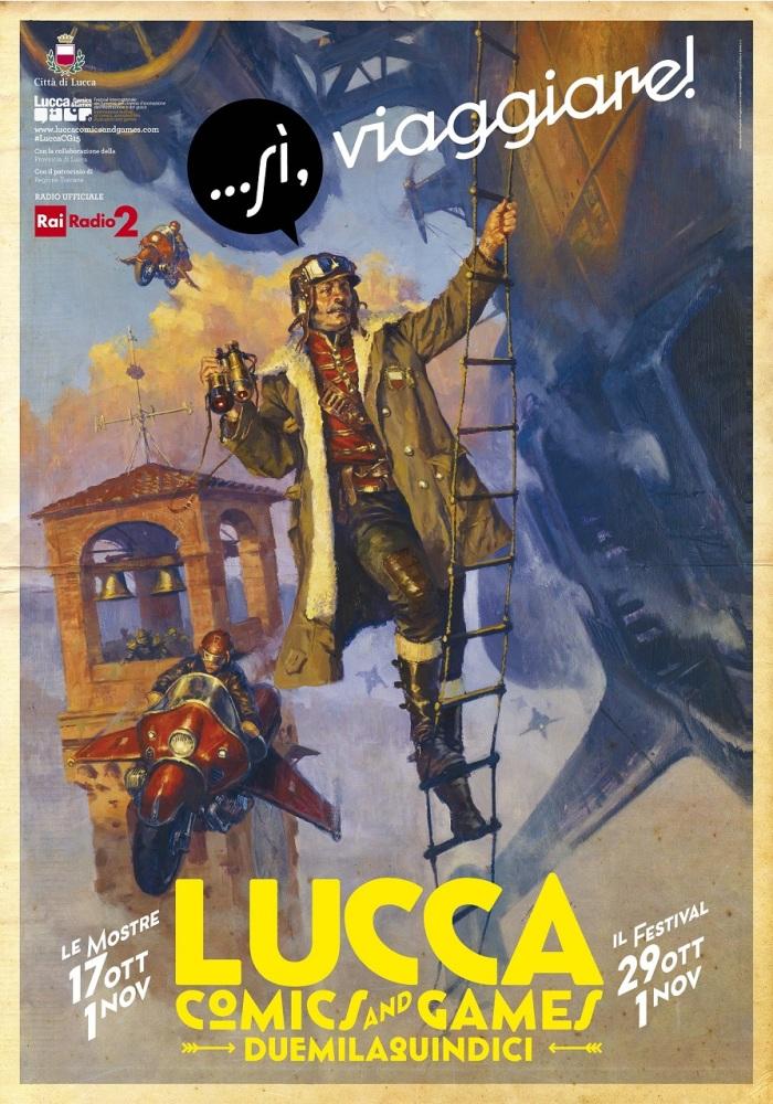 Lucca Comics and Games: dopo i disagi del 2014, tetto giornaliero ai biglietti, orario prolungato il sabato, un po' dei giochi e Music&Cosplay in piazzale Verdi (1/2)