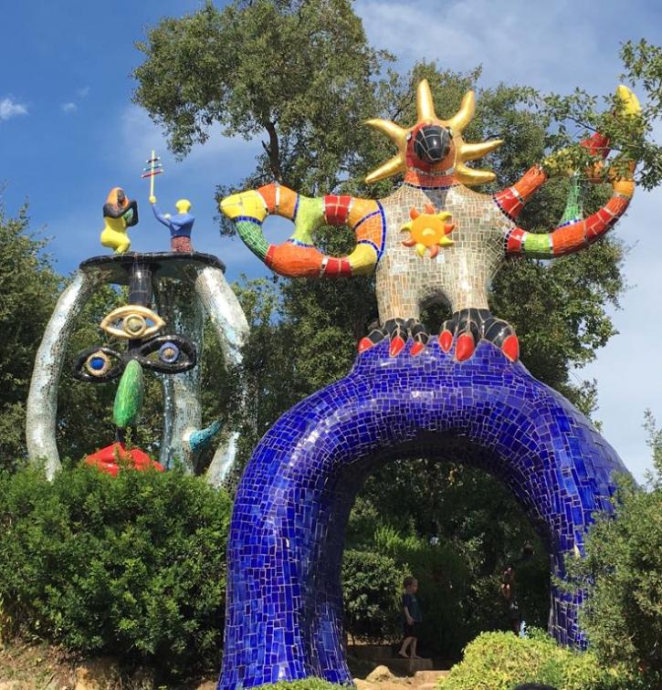 Giardino dei Tarocchi Niki de Saint Phalle 02