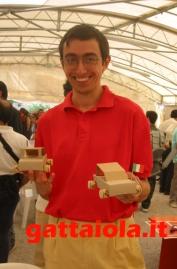 Gradara Ludens 18-21 settembre 2003 - laboratorio creativo auto - Alberto Panicucci