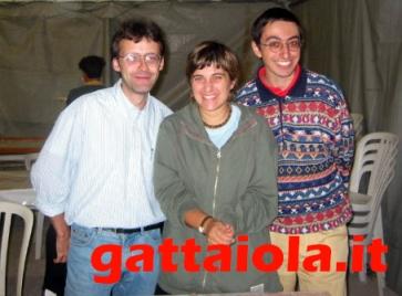 Gradara Ludens 18-21 settembre 2003 - Roberto Rog Gigli, Anna Cenere Benedetto, Alberto Panik Panicucci