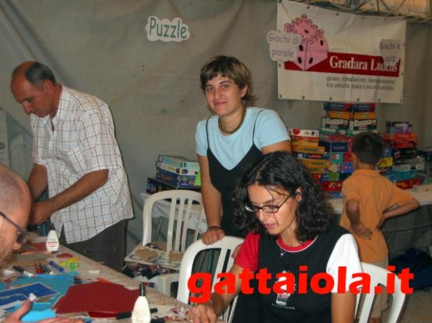 Gradara Ludens 18-21 settembre 2003 - laboratorio creativo auto - Anna Benedetto