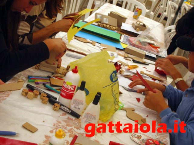 Gradara Ludens 18-21 settembre 2003 - laboratorio creativo auto