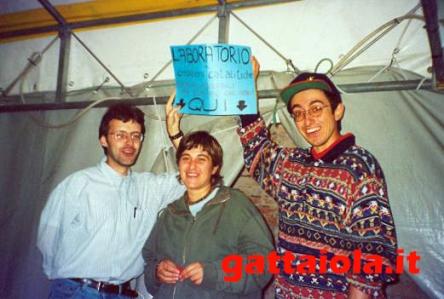 Gradara Ludens 18-21 settembre 2003 - laboratorio creativo auto - Roberto Rog Gigli, Anna Cenere Benedetto, Alberto Panicucci