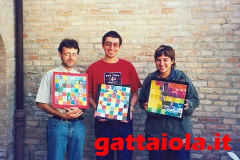 Gradara Ludens 18-21 settembre 2003 - Roberto Rog Gigli, Alberto Panicucci, Anna Cenere Benedetto