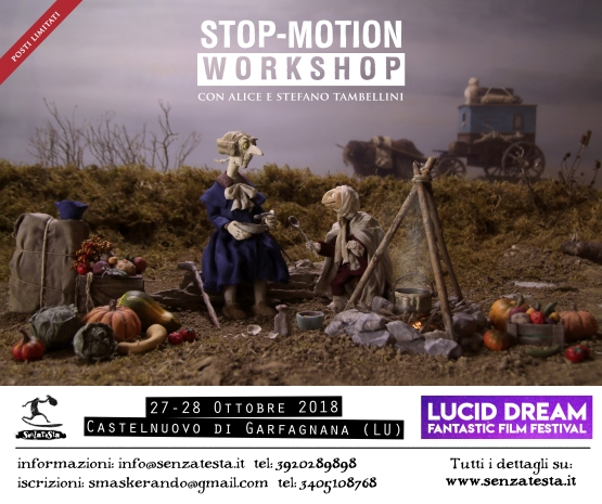 Workshop Stop motion @ LDFFFF