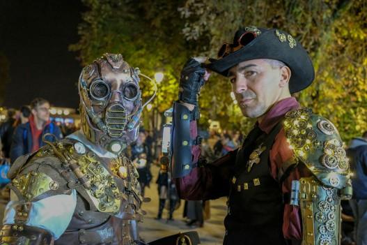 Foto di Giovanni Ricci @Lucca Comics & Games 2018 - sfilata steampunk delle lanterne