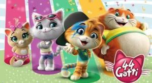 44 gatti: oggi 1 novembre 2018 anteprima del cartone animato in onda