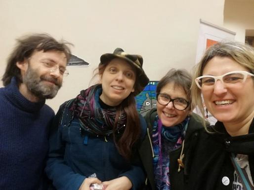 Rog, Laura, Mirella e Cenere