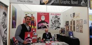 Lucca Comics, Padiglione Napoleone, stand 305 - 40GB editore